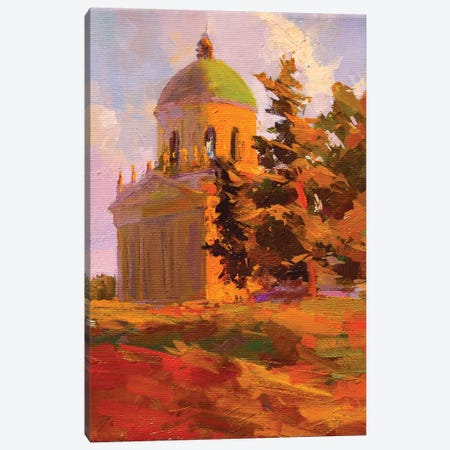 All Saints Church Canvas Print #YPR188} by Yuri Pysar Canvas Print