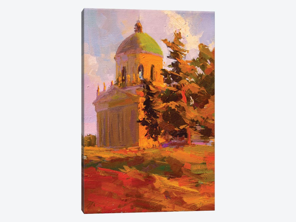 All Saints Church 1-piece Canvas Art