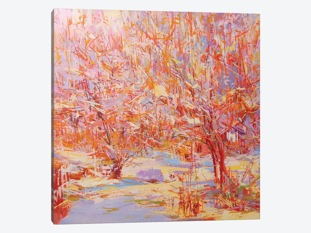 Winter Heat by Yuri Pysar 1-piece Canvas Print