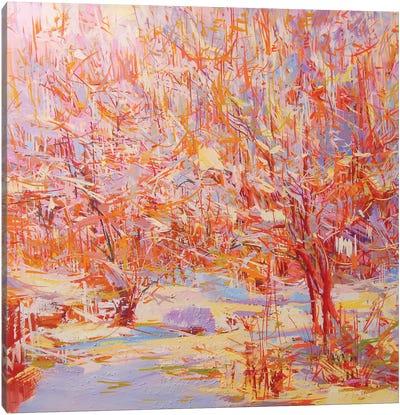 Winter Heat Canvas Art Print