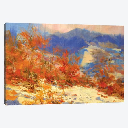 Sunny Mountains Canvas Print #YPR191} by Yuri Pysar Canvas Art