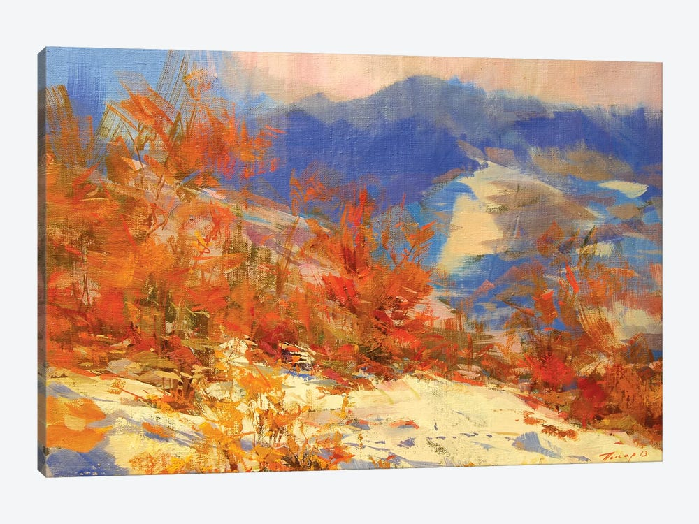 Sunny Mountains by Yuri Pysar 1-piece Canvas Wall Art