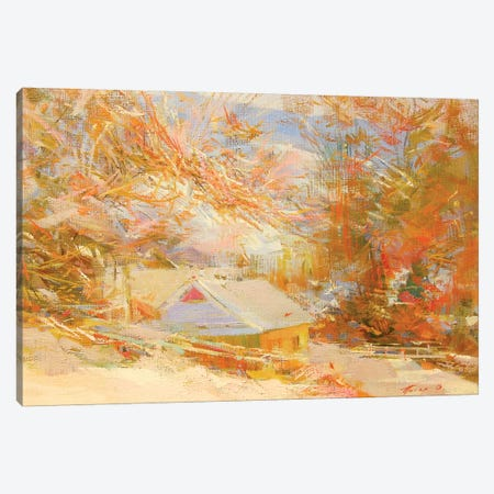 Sunny Mountains Canvas Print #YPR192} by Yuri Pysar Canvas Art