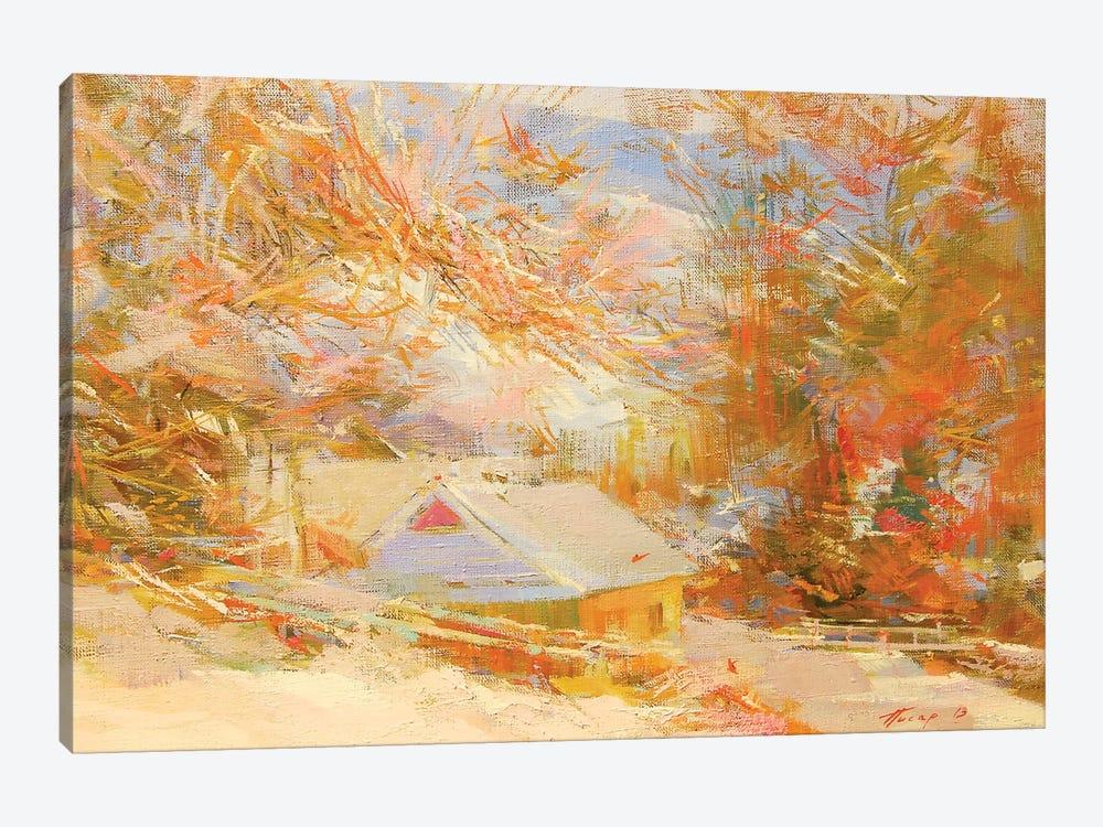 Sunny Mountains by Yuri Pysar 1-piece Canvas Print