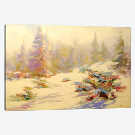 Dragobrat Canvas Print #YPR193} by Yuri Pysar Canvas Artwork