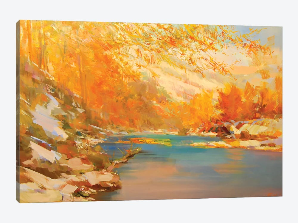 The Sudden Cold by Yuri Pysar 1-piece Canvas Wall Art