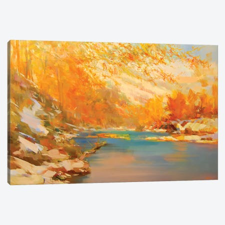 The Sudden Cold Canvas Print #YPR195} by Yuri Pysar Canvas Print
