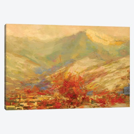 Cold Day Canvas Print #YPR198} by Yuri Pysar Canvas Wall Art
