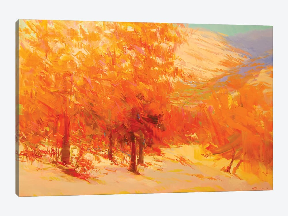 Firing Sunset by Yuri Pysar 1-piece Canvas Artwork