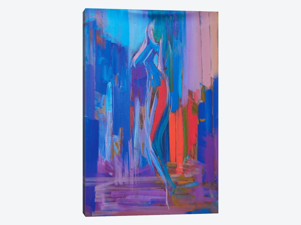 Walk by Yuri Pysar 1-piece Canvas Art