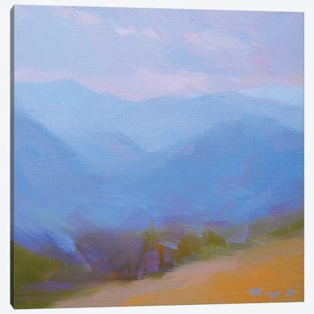 Mountains in Blues II Canvas Print #YPR202} by Yuri Pysar Canvas Artwork
