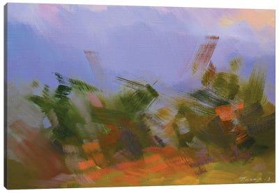 Evening Clouds Canvas Print #YPR203