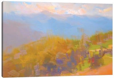 Warm Clouds Canvas Print #YPR204