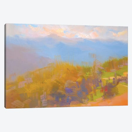Warm Clouds Canvas Print #YPR204} by Yuri Pysar Canvas Print