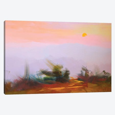 Sunset Canvas Print #YPR205} by Yuri Pysar Canvas Print