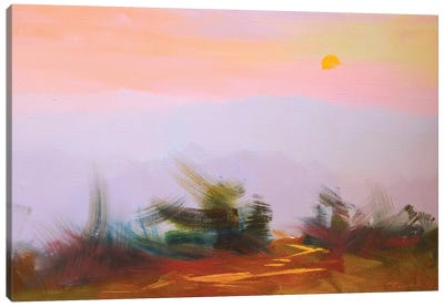 Sunset Canvas Print #YPR205