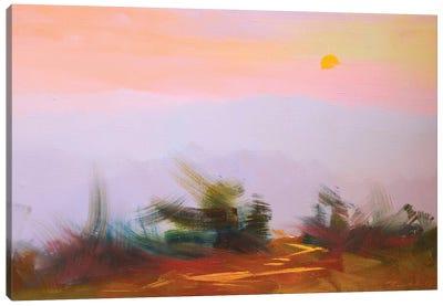 Sunset Canvas Art Print