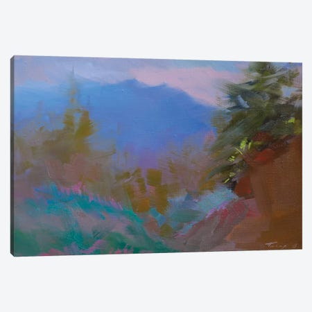 Mountains. Twilight Canvas Print #YPR207} by Yuri Pysar Canvas Art Print