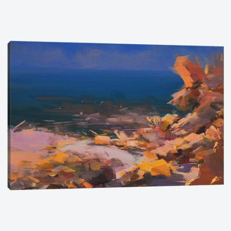 At the Sunset Canvas Print #YPR214} by Yuri Pysar Canvas Wall Art