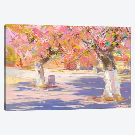 Sakura Canvas Print #YPR216} by Yuri Pysar Canvas Artwork