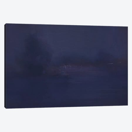 The Light Night Canvas Print #YPR221} by Yuri Pysar Canvas Art