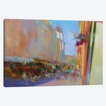 Street of Time #2 Canvas Print #YPR223} by Yuri Pysar Canvas Wall Art