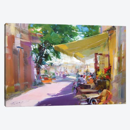 Etude. Pleasant Talks Canvas Print #YPR224} by Yuri Pysar Canvas Art Print