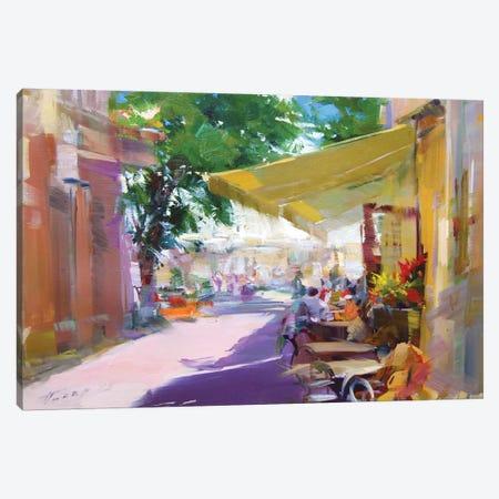 Etude. Pleasant Talks Canvas Print #YPR224} by Yuri Pysar Canvas Art Print