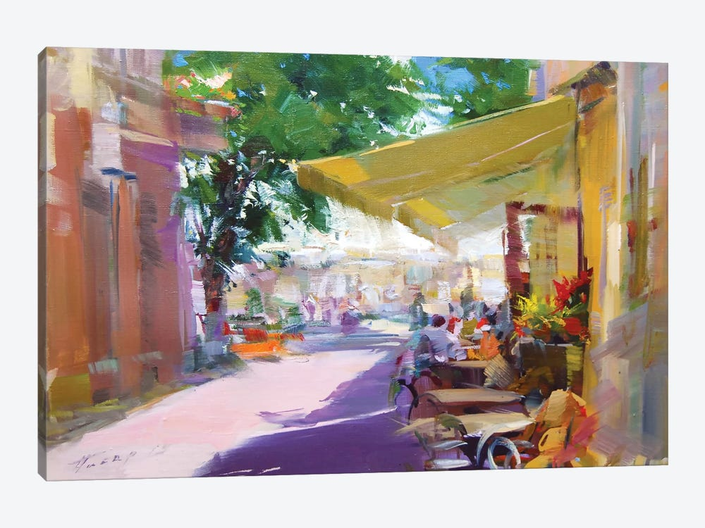 Etude. Pleasant Talks by Yuri Pysar 1-piece Canvas Artwork