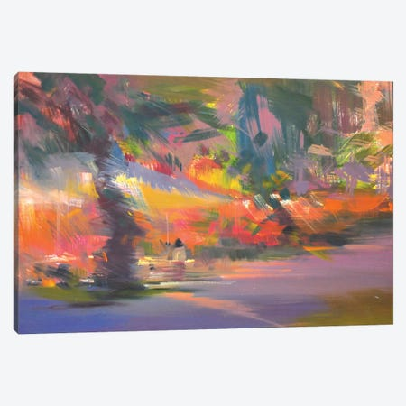 The Summer Day Canvas Print #YPR225} by Yuri Pysar Canvas Art Print