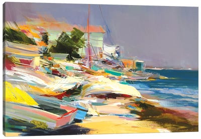 The Fresh Wind Canvas Art Print