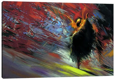 Energy of the Dance Canvas Art Print