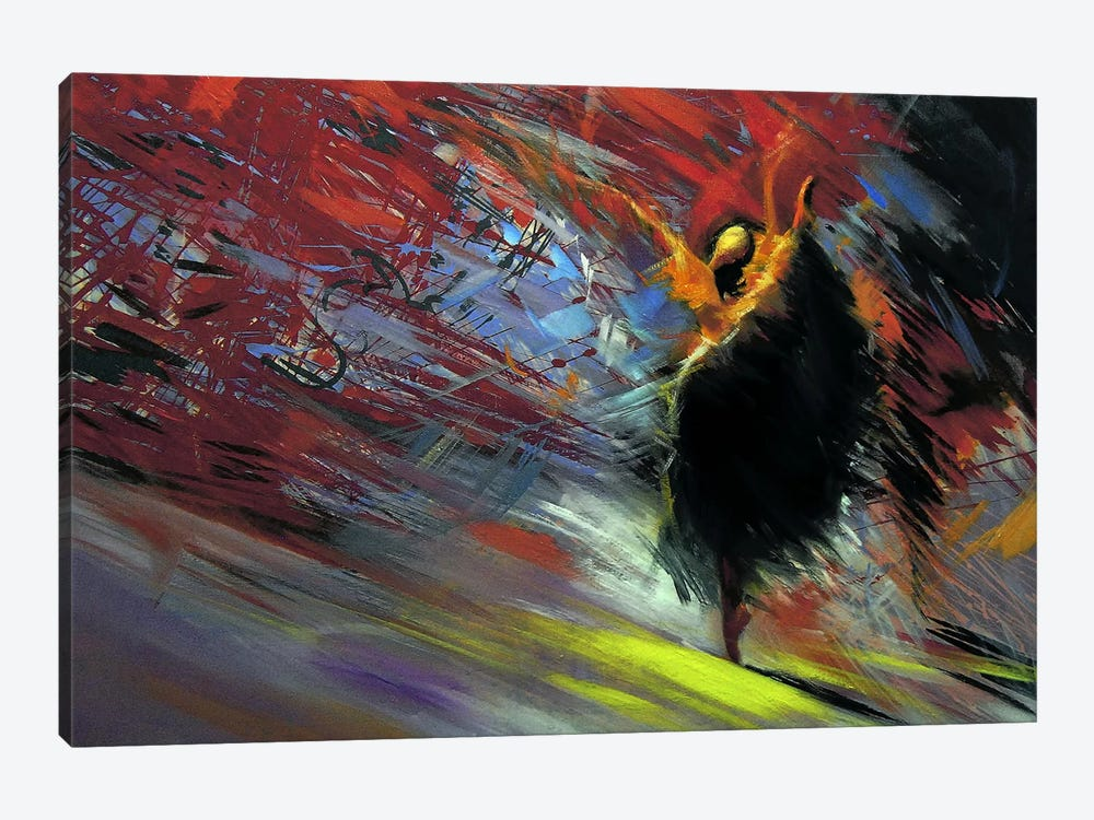 Energy of the Dance 1-piece Canvas Art