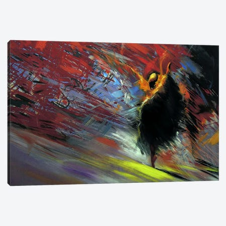 Energy of the Dance Canvas Print #YPR22} by Yuri Pysar Art Print