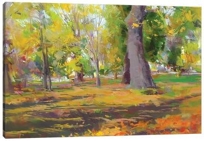 The Autumn Walk Canvas Print #YPR230
