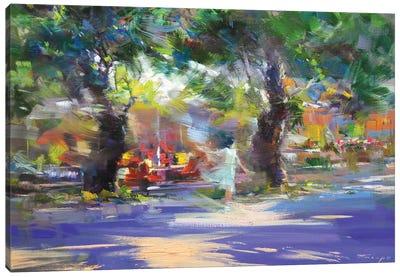 The Windy Walk Canvas Print #YPR232