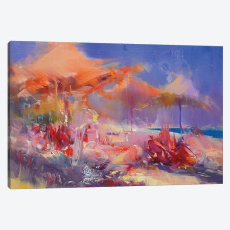 Siesta Canvas Print #YPR237} by Yuri Pysar Canvas Artwork