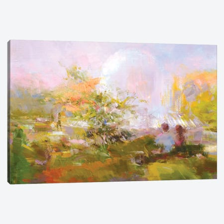 Couple Canvas Print #YPR238} by Yuri Pysar Art Print