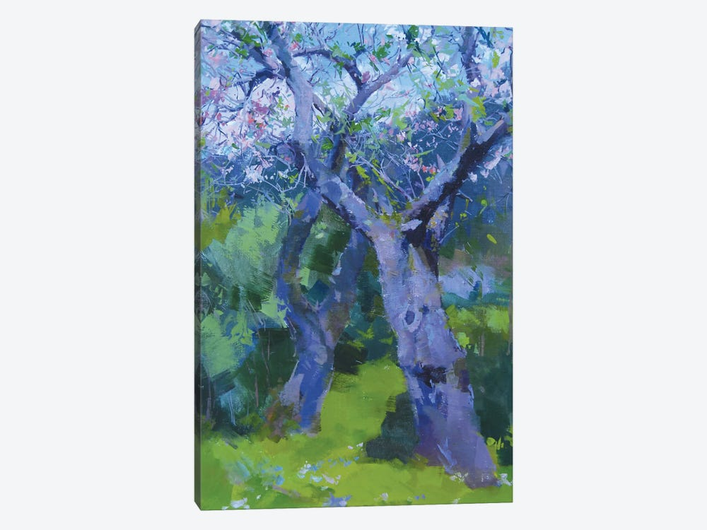 The Couple in Blossom by Yuri Pysar 1-piece Canvas Artwork