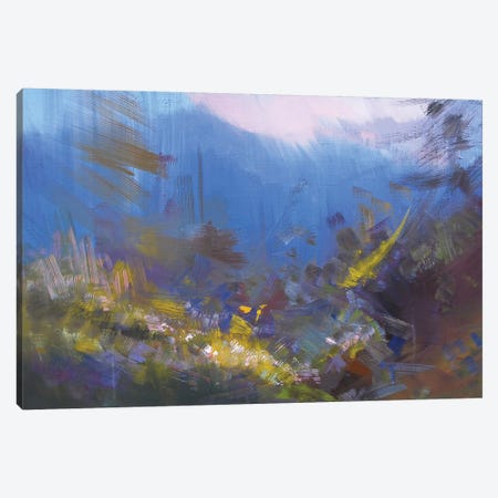 Evening Canvas Print #YPR242} by Yuri Pysar Canvas Wall Art