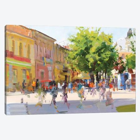 City Canvas Print #YPR243} by Yuri Pysar Canvas Artwork