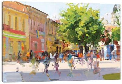 City Canvas Art Print