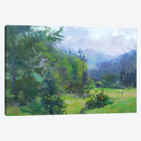 Sunday of Calm and Summer Canvas Print #YPR244} by Yuri Pysar Canvas Print