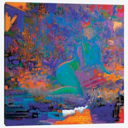 Folk Night Canvas Print #YPR24} by Yuri Pysar Canvas Artwork