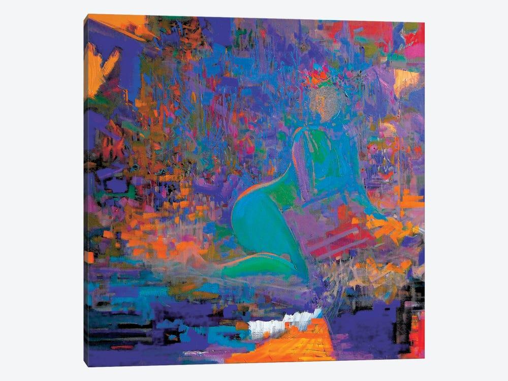 Folk Night by Yuri Pysar 1-piece Canvas Artwork