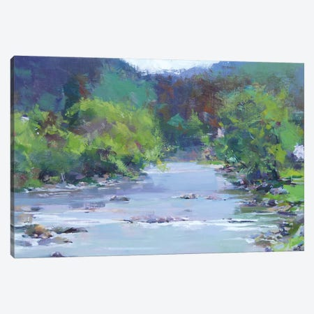 The White River Canvas Print #YPR250} by Yuri Pysar Canvas Print
