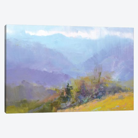 Azure of Autumn Canvas Print #YPR254} by Yuri Pysar Canvas Wall Art