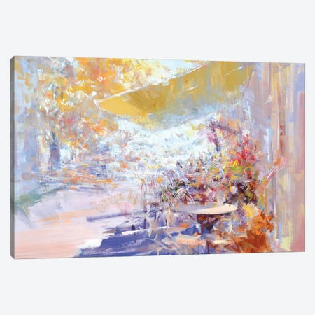 Pleasant Talks Canvas Print #YPR255} by Yuri Pysar Canvas Art