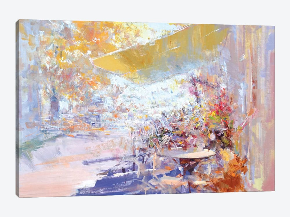 Pleasant Talks by Yuri Pysar 1-piece Canvas Artwork