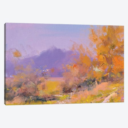 Autumn in Transcarpathia Canvas Print #YPR258} by Yuri Pysar Art Print